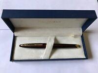 Waterman Carene Marine Amber 18K Gold Fountain Pen