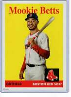 Mookie Betts 2019 Topps Archives 5x7 #50 /49 Red Sox