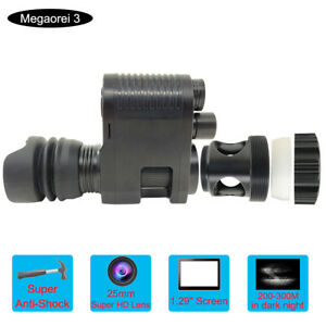 Megaorei3 850nm Night Vision Camera Optical Scope Scope for Hiking Camping