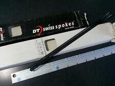 4 NEW 290mm DT Swiss AERO 2.0/1.3/2.5 BLACK spokes 14ga  J-Bend NO nipples