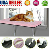 Pet Kitty High Hammock Window Cushion Bed Hanging Shelf Cat Perch Seat US