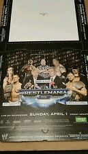 NEW NEVER USED, WWE Wrestlemania 23 Hair vs Hair match FULL PIZZA BOX TRUMP