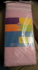 "ARGOS COLOUR MATCH Pair of Voile Curtains 152 x 228 cm (60"" x 90"") in Bubble Gum"