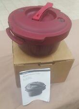 Tupperware microwave pressure cooker fast easy lifetime warranty