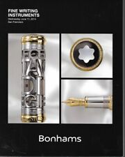 Bonhams Fountain Pens Montblanc Omas Waterman Auction Catalog June 2014