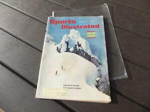 Vintage Sports Illustrated Magazine - November 21, 1960 - New Ski Season