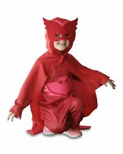 PJ Masks Owlette Glow in The Dark Costume Size 3-5
