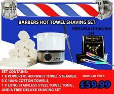 BARBERS HOT TOWEL STEAMER. TOWEL CABINET, TOWEL STERILIZER. SALON SHAVING.