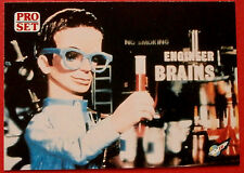 Thunderbirds PRO SET - Card #007, Brains - Pro Set Inc 1992