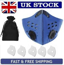 OUTDOOR RIDING BIKING SPORT CYCLING FITNESS REUSABLE PM 2.5 FACE COVER UK SELLER