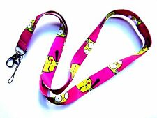 INVADER ZIM GIR LANYARD dog suit neck strap ID badge clip Jhonen Vasquez JTHM Z1