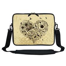 Neoprene Laptop Bag Case with Shoulder Strap Fit  Chromebook Netbook 3012