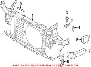Genuine OEM Radiator Support Baffle for Mini 51749802688