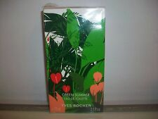 GREEN SUMMER  YVES ROCHER  EAU DE TOILETTE  75 ML  RARE VINTAGE IN CELLO
