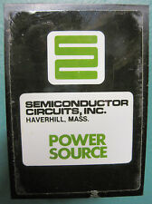12 Volt Power Supply – Semiconductor Circuits EA 12D