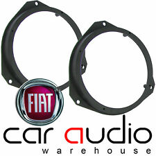 "Fiat Grande Punto 2005 On 17cm 6.5"" 165mm Front Door Car Speaker Ring Brackets"