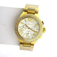 Michael Kors MK5756 Camille Chronograph Crystal Ladies Stainless Band Watch