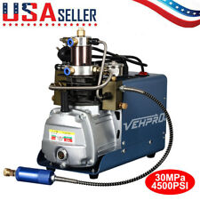 Auto 30Mpa Air Compressor Pump 110V Pcp Electric 4500Psi High Pressure R-ifle
