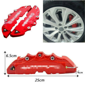 1 Pair Car Wheel Modified Brake Caliper Cover  High Temperature Resistant ABS