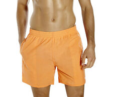 """SPEEDO MENS SWIM SHORTS.SOLID LEISURE 16"""" QUICK DRY WATER SWIMMERS TRUNKS 7W 849"""