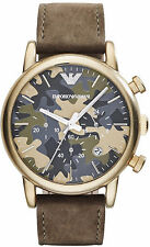 Emporio Armani Camo Quartz Analog Men's Watch AR1818