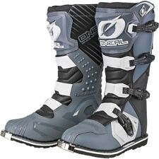 Oneal Rider Motocross Adults off Road Enduro BOOTS Grey Size UK 8/ EU 42