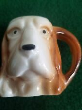 Antique Miniature Mug Occupied Japan Of Dog. Very Rare...ONLY ONE ON EBAY. Toby?