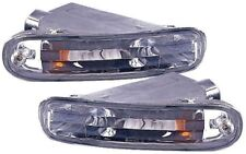 TOYOTA CELICA 1989-1993 CRYSTAL CLEAR CHROME FRONT INDICATOR REPEATER LIGHTS