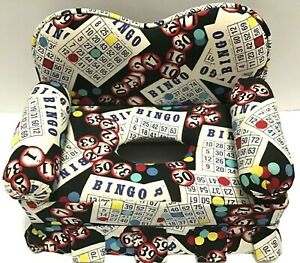 Bingo Themed Sofa Tissue Box Cover Handmade Bingo Cards Unusual Gift Couch Fun
