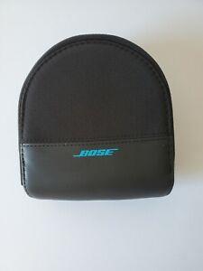OEM Genuine Bose Soundlink OE Headphones Case - Black/Teal, Case Only