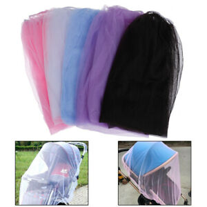 Baby stroller pushchair cart mosquito insect net safe mesh buggy crib netting~