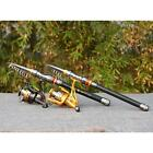Telescopic Carbon Fiber Fishing Rod Travel Spinning Sea Pole Tackle 3.6M VS