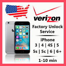 VERIZON iPhone Unlock Service Code for 4S 5 SUPER FAST