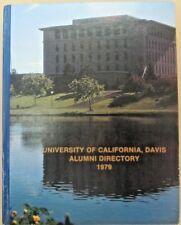University of California, Davis (UCD) Alumni Directory 1979