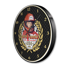 PETER BROCK COMMEMORATIVE WALL CLOCK LTD