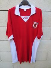 VINTAGE Maillot AS CANNES Volley Ball Asics shirt coton XXL