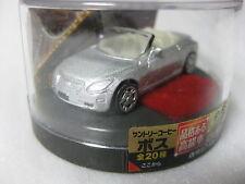 TOYOTA SOARER Convertible Silver Lexus SC Diecast Model Car Suntory BOSS