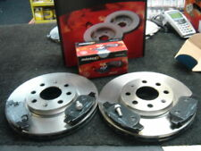 VAUXHALL CORSA D 1.2 16V 06> BRAKE DISC MINTEX FRONT BRAKE DISCS AND PADS