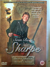 Sean Bean SHARPE'S BATTLE / SHARPE'S SWORD ~ TV Drama Double Bill | UK DVD
