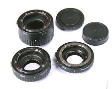 Metal AF MACRO Auto Extension Tube Set For Nikon D7100 D610 D600 D5300 D5200 D90
