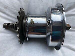 Vintage bike 3 speed Sturmey Archer dynamo hub 1968 - 40 spoke/20 teeth.