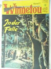 1 x Comic - Winnetou - Band 7 - In der Falle - nach Karl May - Lehning