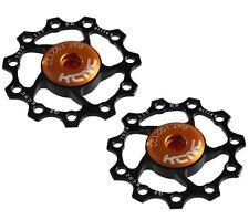 KCNC AL7075 Jockey Wheels Bike Bicycle Rear Derailleur Pulley 11T - Black