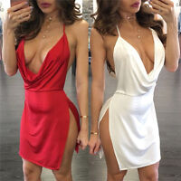 Hot Evening Party Bandage Bodycon Women Cocktail Summer Casual Short Mini Dress.