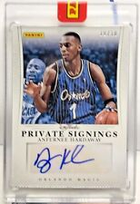Anfernee Hardaway 2012-13 Panini NBA Finals Promo Private Signings Auto #d 10/10