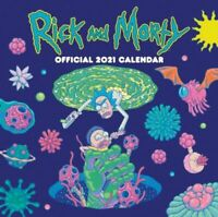 Rick and Morty 2021 Calendar - Official Square Wall Format Calendar BNEW