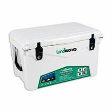 Landworks Rotomolded ENHANCED Ice Cooler 45 QT 5 Day Ice Retention