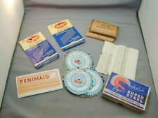 Vintage Lot Dressmaker & Silk Pins In Packages