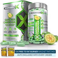GARCINIA CAMBOGIA DIET PILLS / MAX STRENGTH FAT BURNER & APPETITE SUPPRESSANT