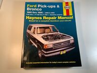 Haynes 36058 repair manual Ford pick up Bronco 80-96